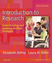 Introduction to Research - E-Book: Understanding and Applying Multiple Strategies, Edition 5