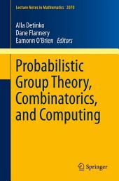 Probabilistic Group Theory, Combinatorics, and Computing: Lectures from the Fifth de Brún Workshop