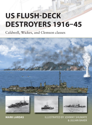 US Flush Deck Destroyers 1916   45