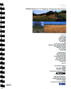 Folsom South of U S  50 Specific Plan Project  Sacramento County