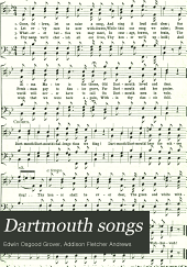 Dartmouth songs: a new collection of college songs