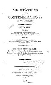 Meditations and Contemplations: Volumes 1-2