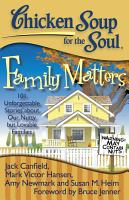 Chicken Soup for the Soul  Family Matters PDF