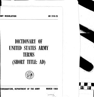 Dictionary of United States Army Terms PDF