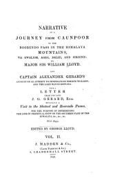 Narrative of a journey from Caunpoor to the Boorendo pass, in the Himalaya Mountains viâ Gwalior, Agra, Delhi, and Sirhind