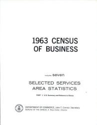 1963 Census Of Business Book PDF