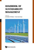 Handbook Of Sustainability Management