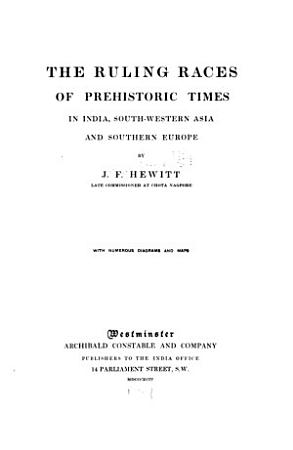 The ruling races of prehistoric times in India PDF