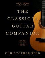 The Classical Guitar Companion PDF