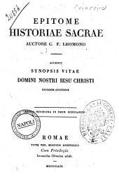 Epitome historiae sacrae auctore C. F. Lhomond