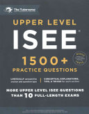 Upper Level ISEE