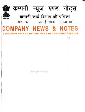 Company News and Notes