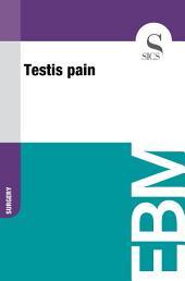 Testis pain