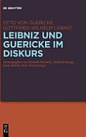 Leibniz und Guericke Im Diskurs PDF