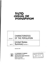 Characteristics Of The Population Book PDF