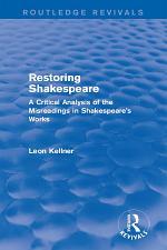 Restoring Shakespeare
