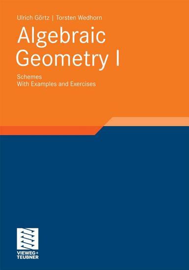 Algebraic Geometry PDF