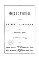 Simon de Montfort and the Battle of Evesham PDF