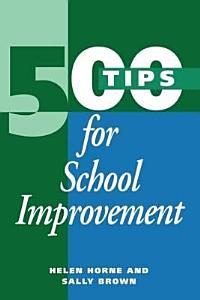 500 Tips for School Improvement Book