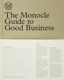 The Monocle Guide to Good Business PDF