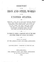 Directory to the Iron and Steel Works of the United States