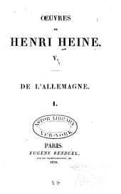 Oeuvres de Henri Heine: Volume5