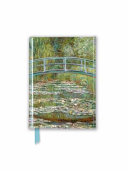 Claude Monet - Bridge Over a Pond of Water-lilies Foiled Pocket Journal