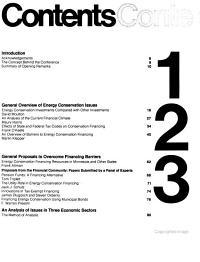 Financing Energy Conservation PDF
