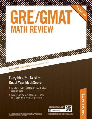 GRE GMAT Math Review PDF