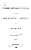 The Southern literary messenger PDF