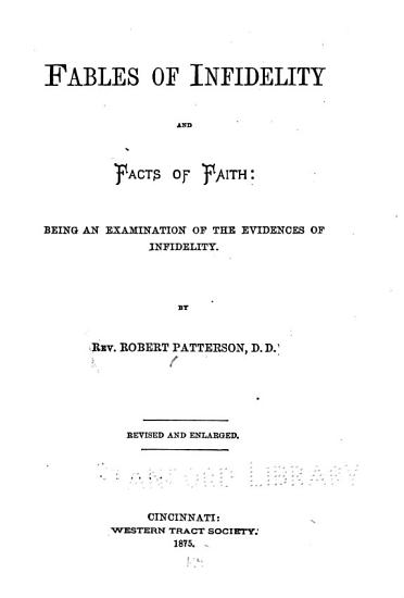 Fables of Infidelity and Facts of Faith PDF