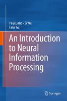 An Introduction to Neural Information Processing PDF