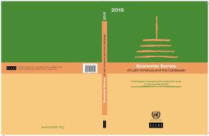 Economic Survey of Latin America and the Caribbean 2015 PDF
