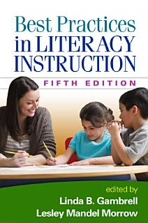 Best Practices in Literacy Instruction  Fifth Edition Book