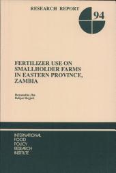 Fertilizer Use on Smallholder Farms in Eastern Province, Zambia