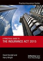 A Practical Guide to the Insurance Act 2015 PDF