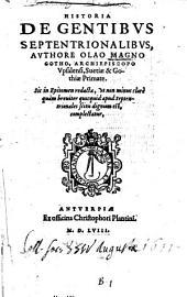 Historia de gentibus septentrionalibus