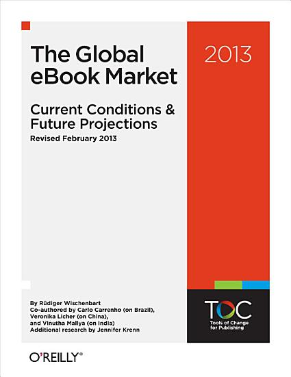 The Global EBook Market  Current Conditions   Future Projections PDF