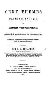 Cent thêmes Français-Anglais