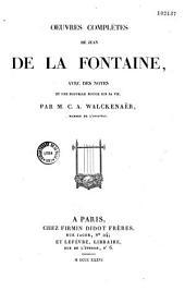 Oeuvres complètes de Jean de La Fontaine