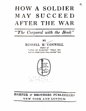 "How a Soldier May Succeed After the War: ""the Corporal with the Book,"""