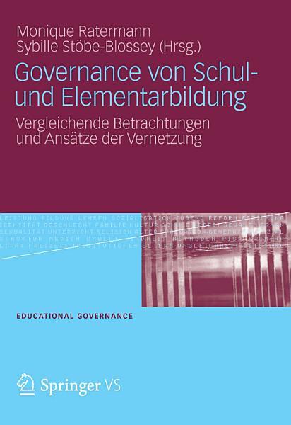 Governance Von Schul Und Elementarbildung
