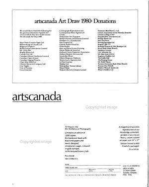 Arts Canada PDF