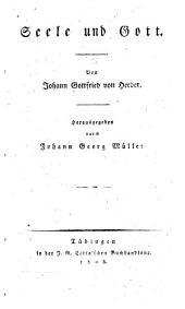 Johann Gottfried von Herder's Sammtliche Werke: zur Philosophie und Geschichte, Band 8