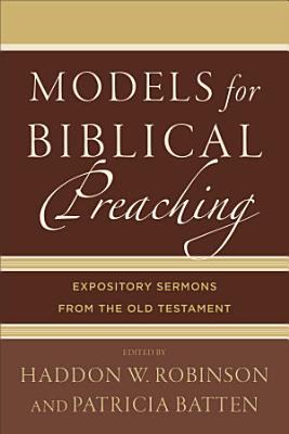 Models for Biblical Preaching PDF