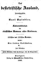 Die sieben Todsünden: ¬Die Trägheit, Bände 1-2;Band 5