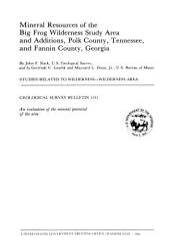 Geological Survey Bulletin: Issue 1531
