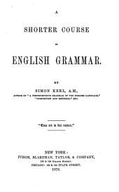 A Shorter Course in English Grammar