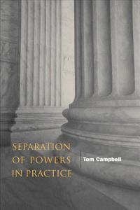 Separation of Powers in Practice Book