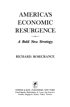 America s Economic Resurgence PDF